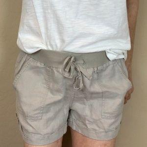 Banana Republic Classic Linen Shorts Millstone S